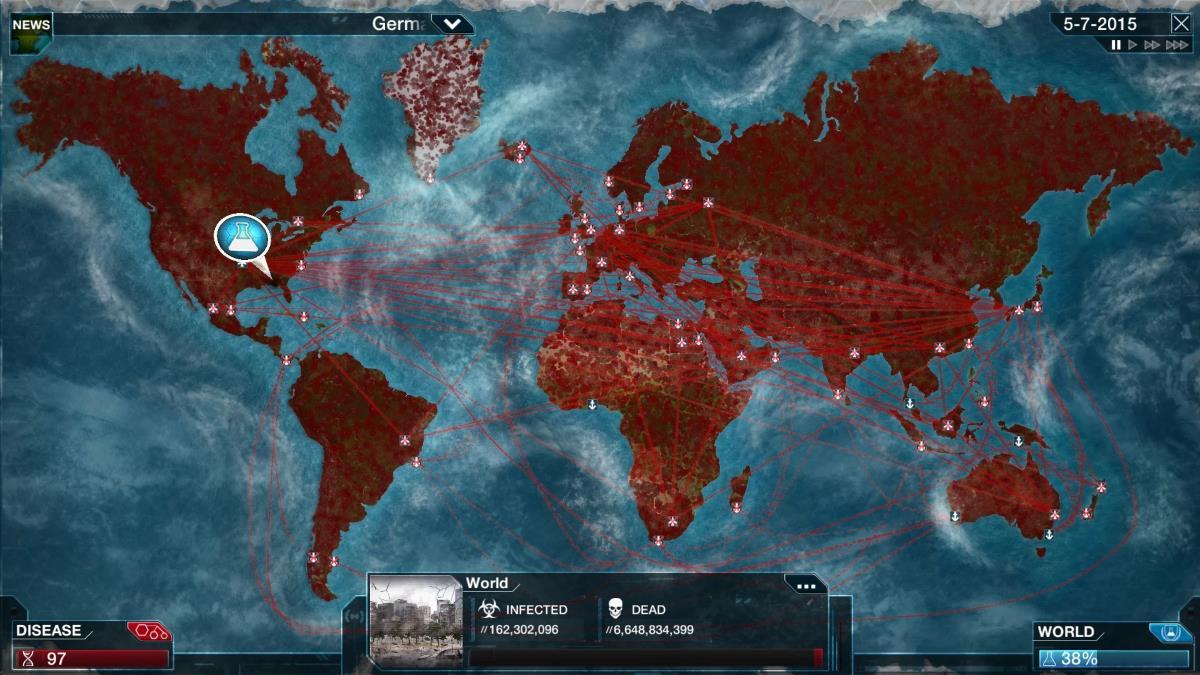 Apple видалила гру про епідемію з китайського App Store. Це вимагала влада КНР