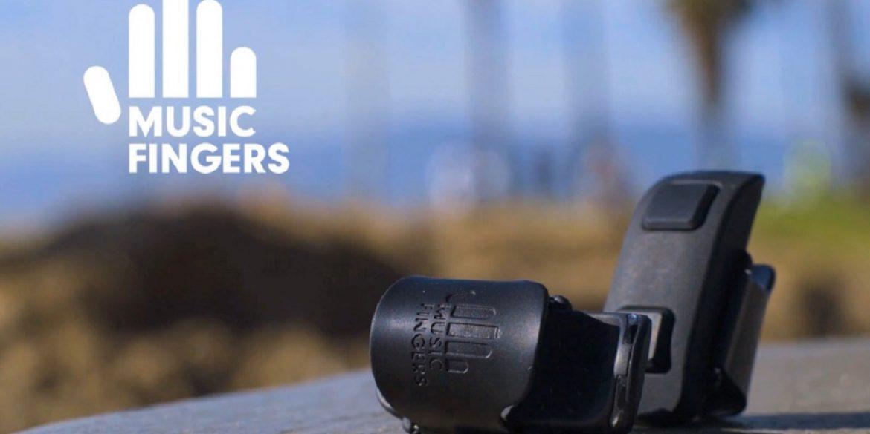 Music Fingers - мініатюрний пристрій, що перетворює рухи пальців у музику