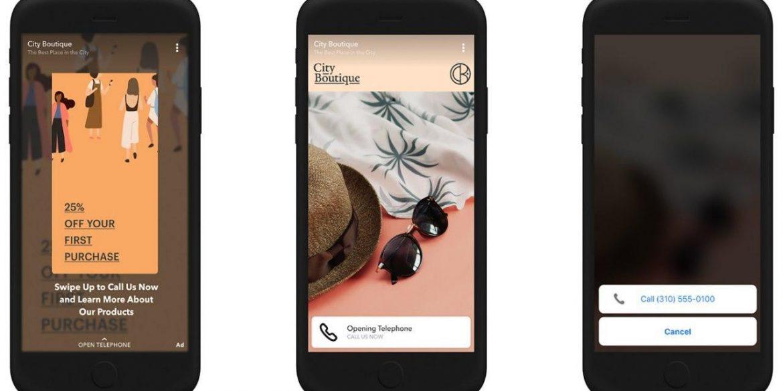 Snapchat дозволить здійснювати покупки дзвінком iз cторіс