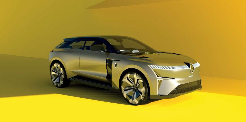 Renault представили концепт електрокару, що розтягується