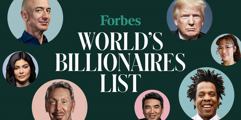 У списку найбагатших людей планети Forbes з'явилися чотири представники криптоіндустрії