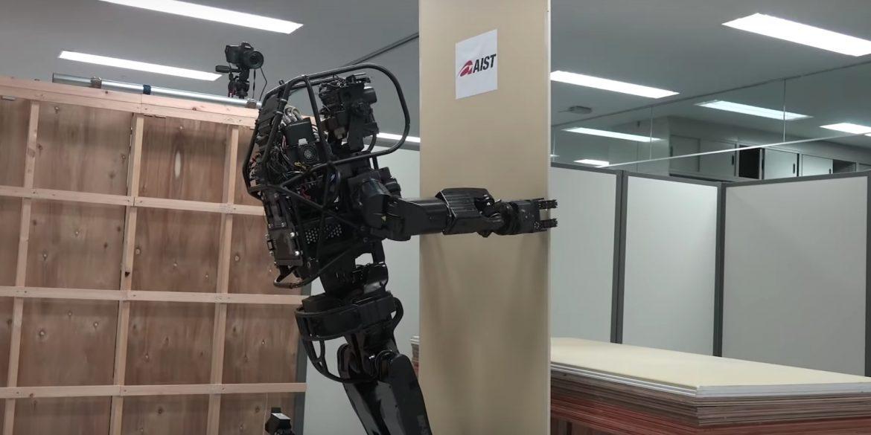 В Японії представили прототип робота-будівельника