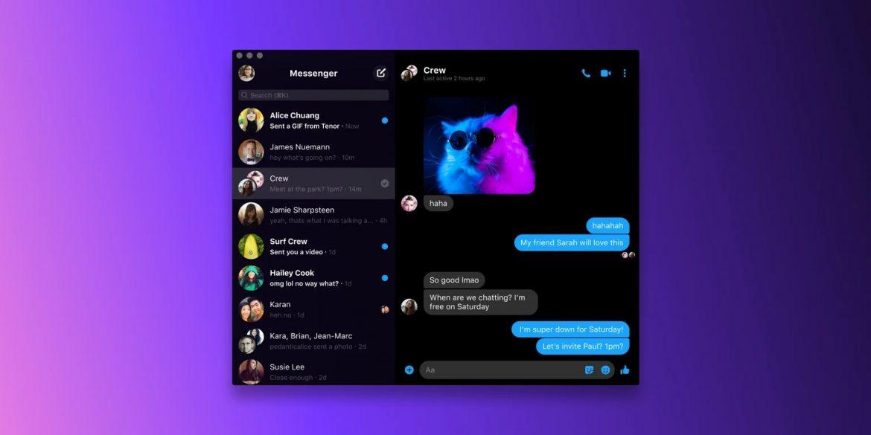 Facebook випустили десктопну версію Messenger через зростаючу кількість відеодзвінків