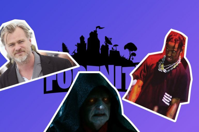 Шоу репера та фільми Нолана. Як гра Fortnite стала кінотеатром і концертним майданчиком