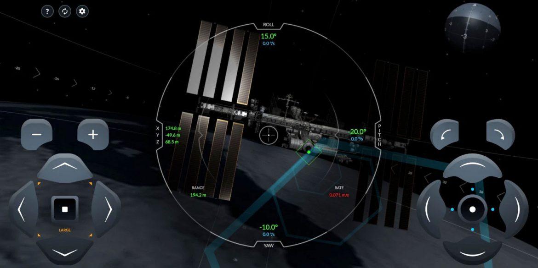 SpaceX випустила веб-симулятор стикування корабля Crew Dragon з МКС