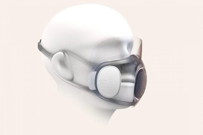 Создатели фитнес-трекера Mi Band выпустят самоочищающуюся прозрачную маску
