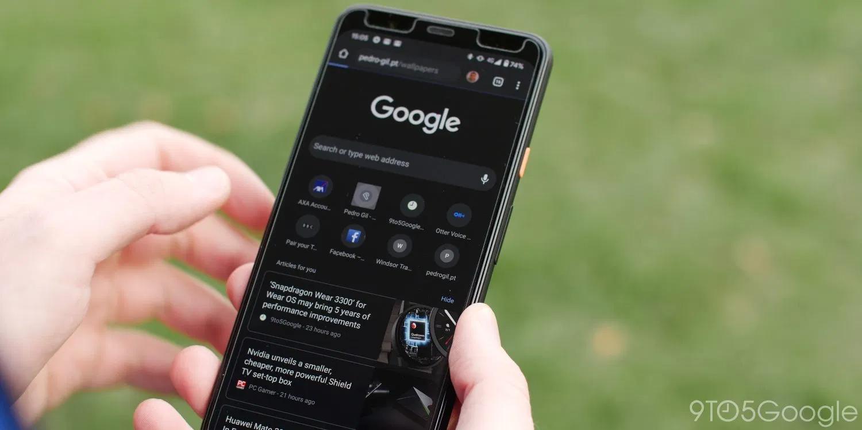 Мобільний Google Search отримав темний режим