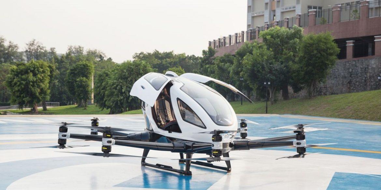 У Китаї дозволили комерційну діяльність пасажирських дронів