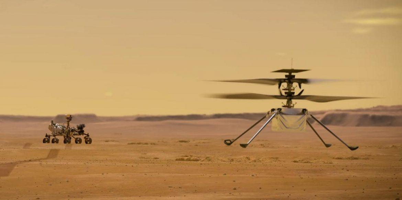NASA представило вертоліт, який буде досліджувати Марс з повітря