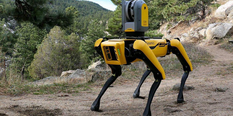 У Сінгапурі робот Spot стежить за дотриманням соціального дистанціювання в парках