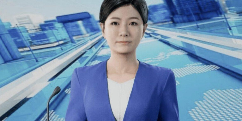 Китайське інформагентство «Сіньхуа» поповнило штат цифровою ведучою