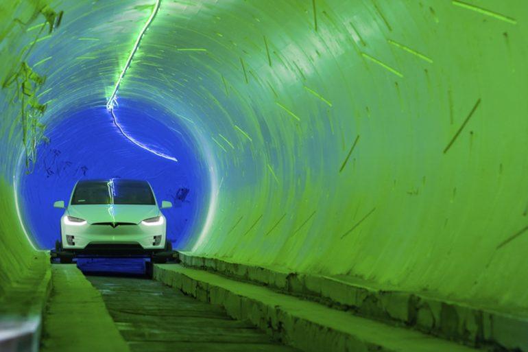 Boring Company Ілона Маска завершила будівництво тунелю під Лас-Вегасом