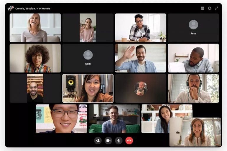 Facebook інтегрує групові відеодзвінки в свій корпоративний сервіс Workplace
