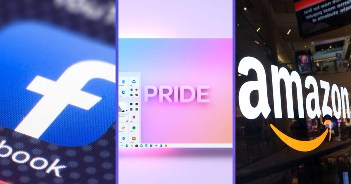 Результати бойкоту Facebook, безпілотні автомобілі від Amazon та «райдужний» дизайн Windows