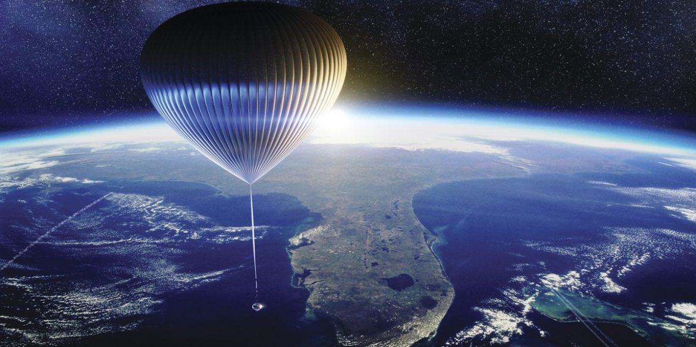 У США будуть піднімати туристів до межі атмосфери та космосу на повітряній кулі