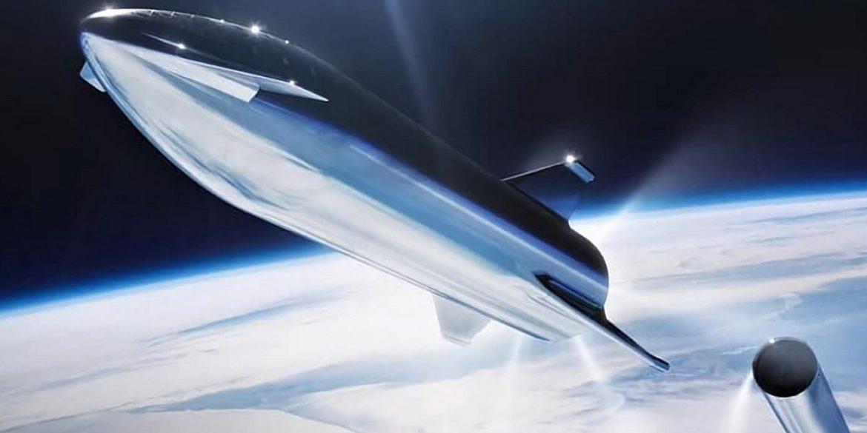 Ілон Маск поділився новим фото корабля для колонізації Марсу