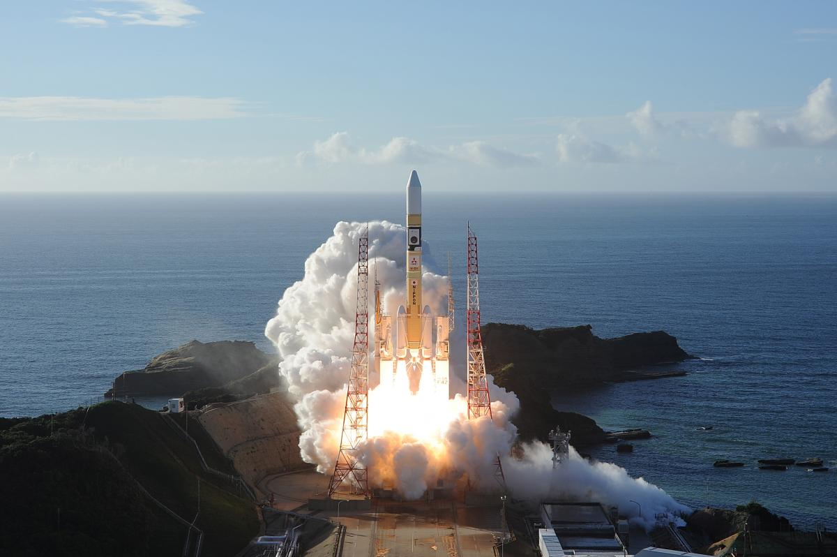 Фото: як виглядав запуск першого арабського корабля на Марс