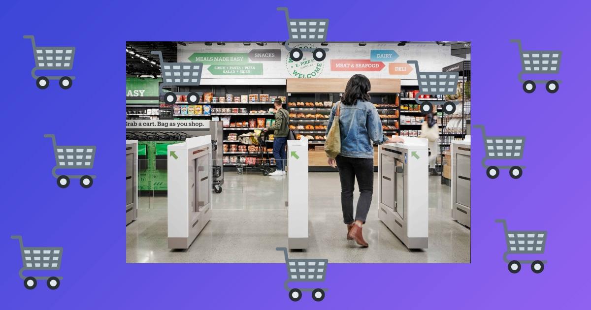 Магазини без кас: як працює Amazon Go Grocery