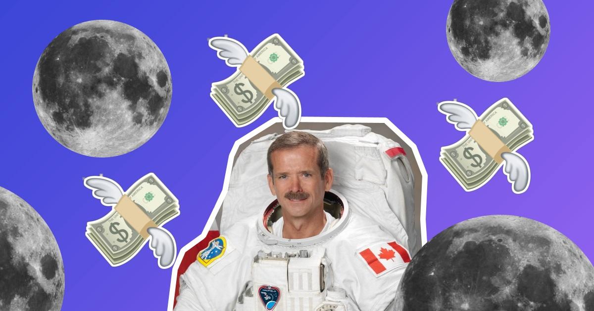 Астронавт Кріс Хедфілд про блокчейн у космосі, пандемію та освоєння Місяця
