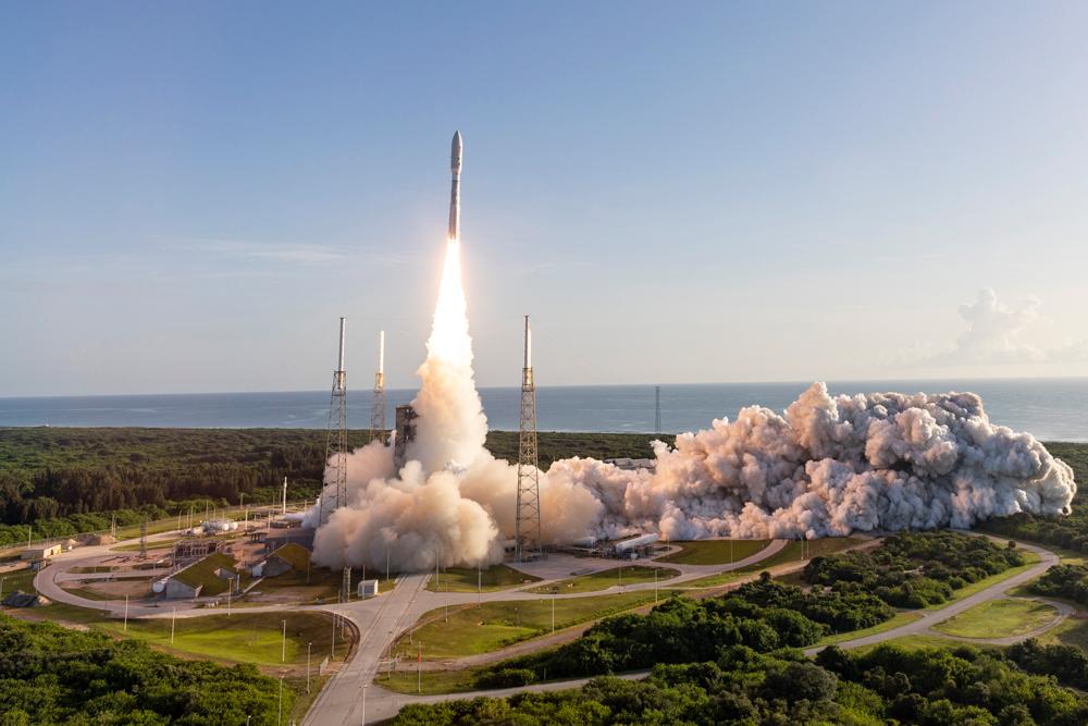 Фото. Повернення США на Марс: як виглядав старт нової місії