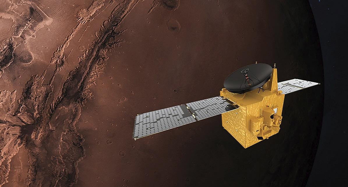 ОАЕ успішно запустили марсіанський зонд Норе