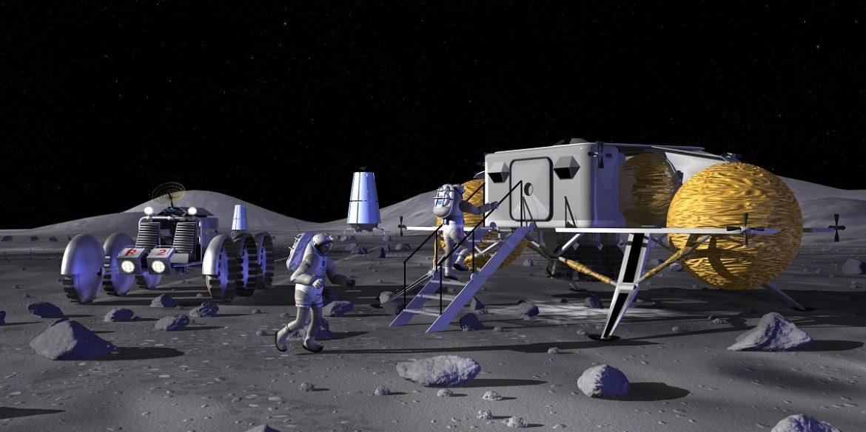 NASA надрукує на 3D-принтері місячну базу