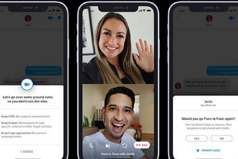 Tinder тестує функцію відеодзвінків