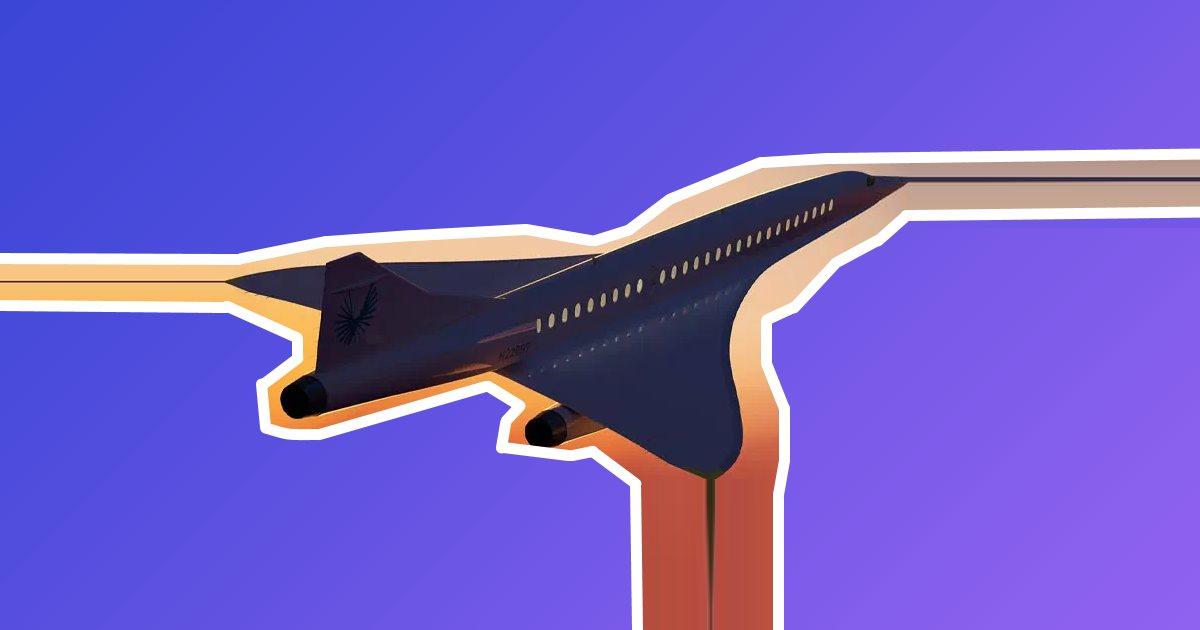 Как в США создают сверхзвуковой лайнер XXI века
