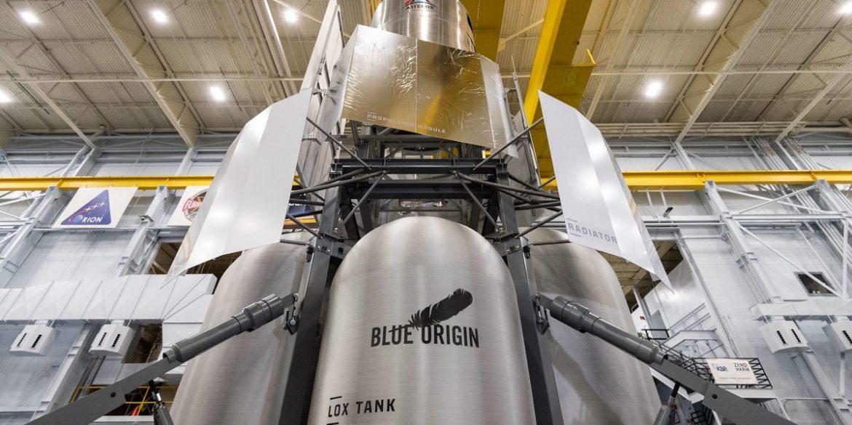 Blue Origin передала NASA макет місячного посадкового модуля для випробувань
