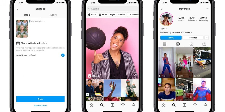 Instagram представил Reels – конкурента TikTok
