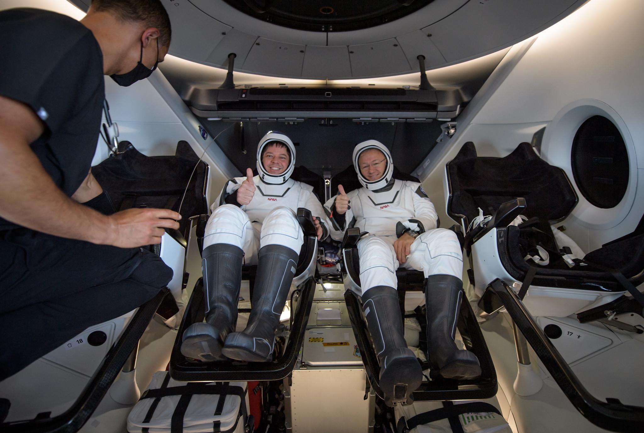 «Це схоже на тварину». Астронавт NASA поділився враженнями про політ на Crew Dragon
