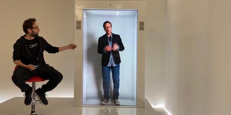 У США представили PORTL - екран, що створює голограму для відеодзвінків