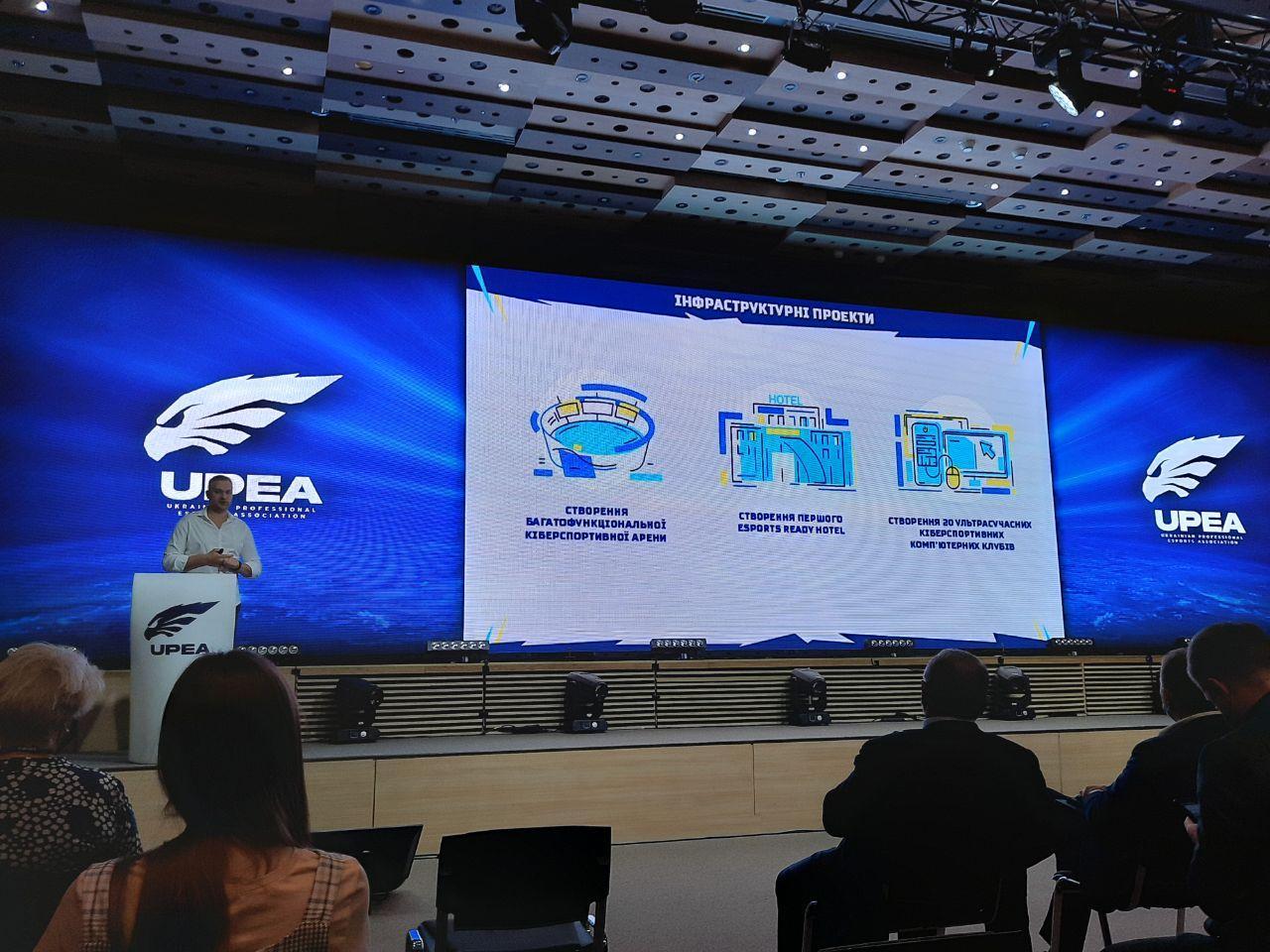 Ігровий готель та кібер-арена. У Києві презентували стратегію кіберспорту до 2025 року