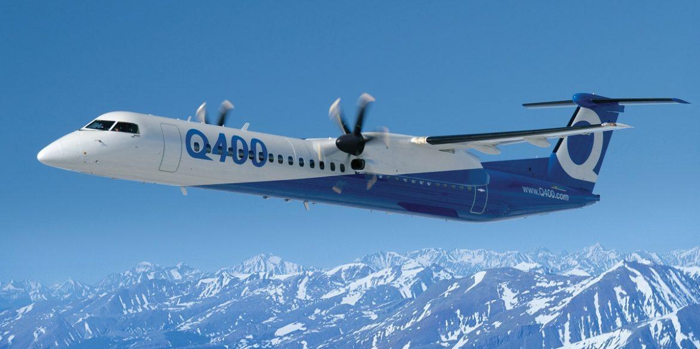 Лайнер Bombardier DHC-8 стане найбільшим літаком з водневим двигуном