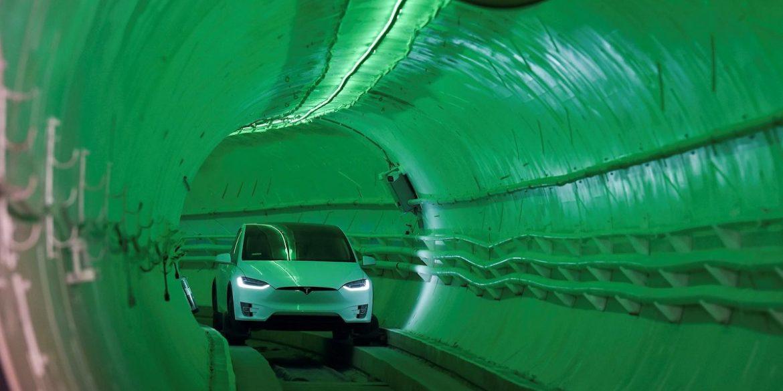Ілон Маск анонсував запуск першого тунелю під Лас-Вегасом