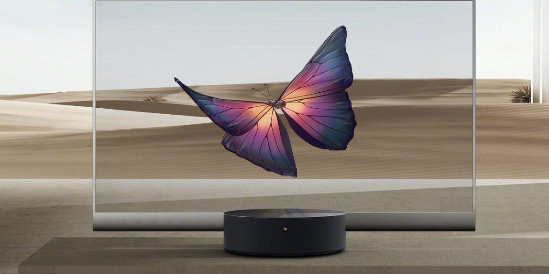 Xiaomi випустить монітор з прозорим екраном в 2021 році
