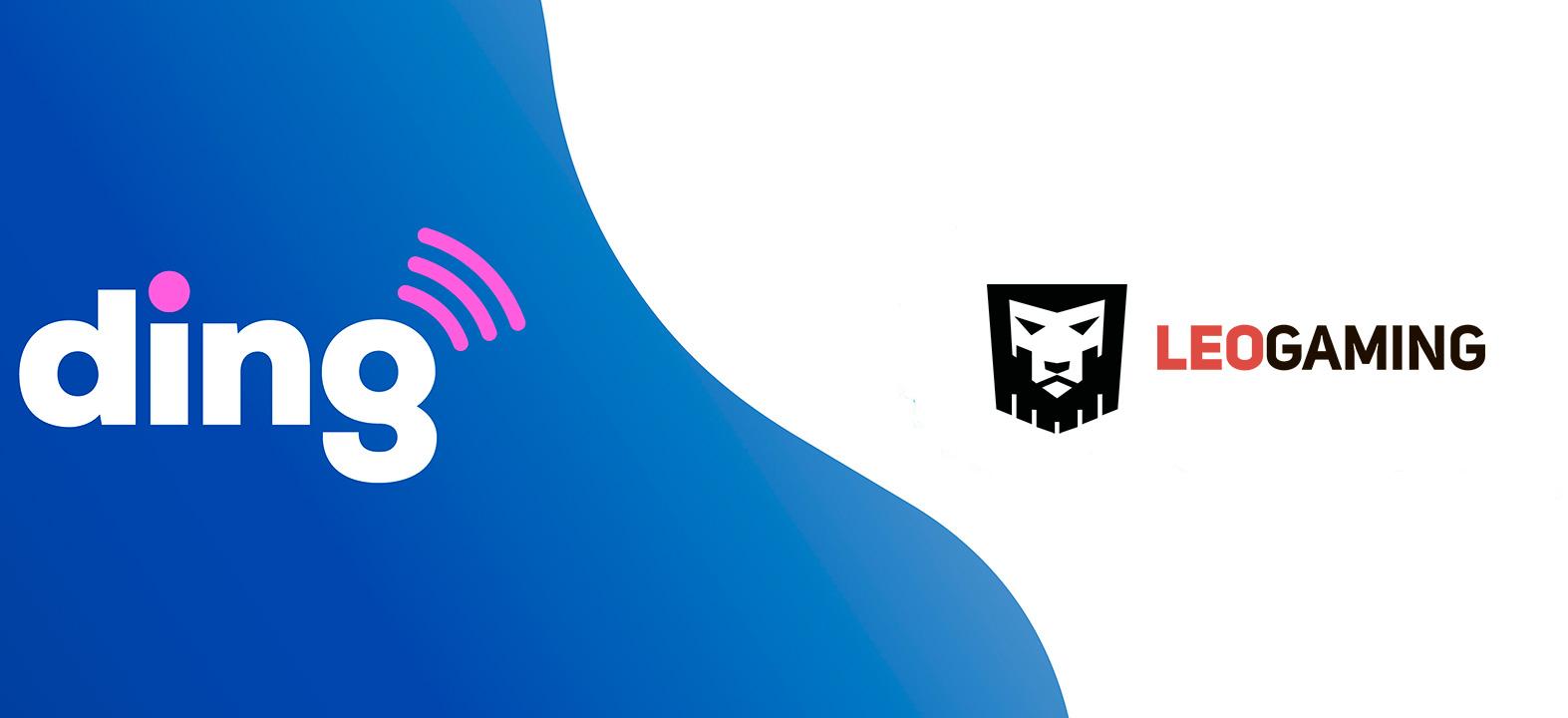 Ding співпрацює з LeoGaming, щоб допомогти онлайн гравцям залишатися на зв'язку