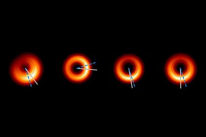Вчені опублікували новий знімок чорної діри масою 6,5 млрд Сонць
