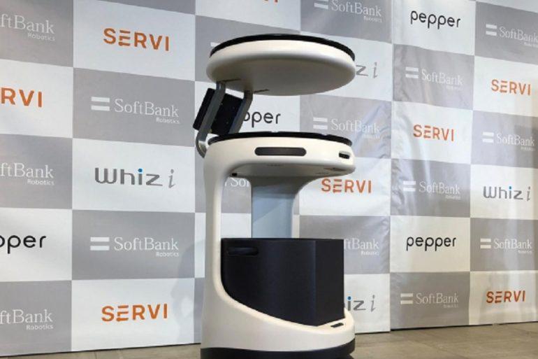 В Японії представили робота-офіціанта