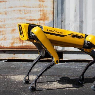 Робот Spot від Boston Dynamics виміряв радіацію у Зоні ЧАЕС
