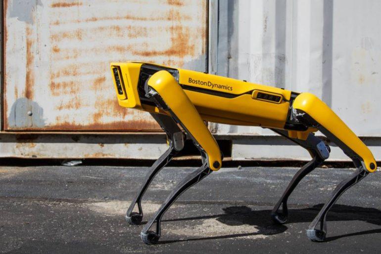 Робот Spot от Boston Dynamics измерил радиацию в Зоне ЧАЭС