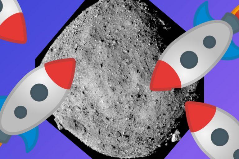 В NASA показали, как выглядела операция по захвату грунта астероида Бенну