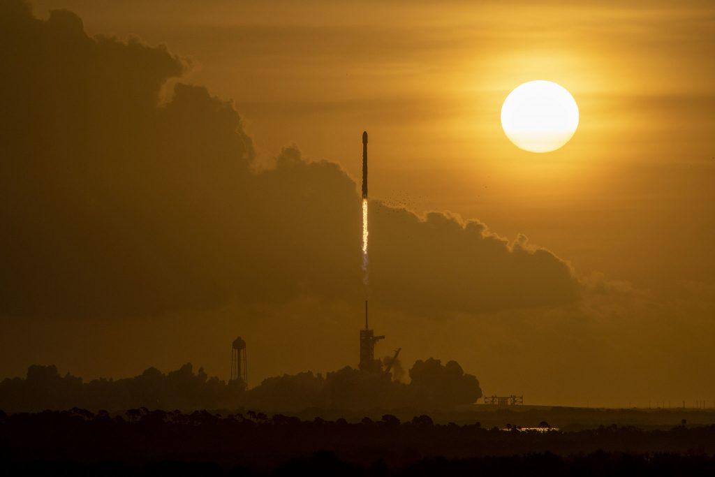 Фото: як виглядав запуск тринадцятої партії Starlink