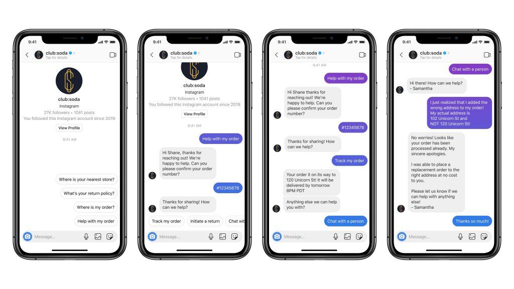 Instagram запустил чат-ботов в возможностью интеграции в СRM
