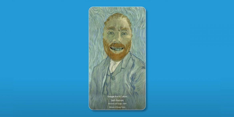 Google випустив AR-фільтри, що перетворюють селфі у шедеври Ван Гога і Фріди Кало