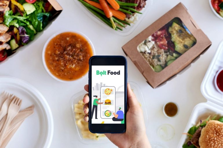 У Києві запустився сервіс доставки їжі від Bolt