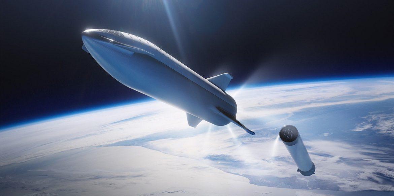 Ілон Маск показав фото двигунів міжпланетного корабля Starship