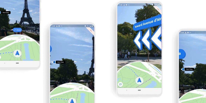 Google Maps тепер в доповненій реальності показує маршрут до пам'яток