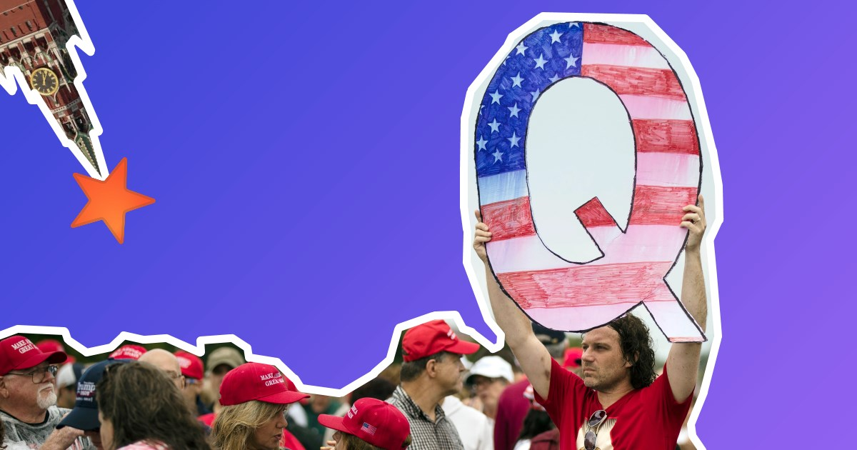 Як Росія виявилася причетною до американської теорії змов QAnon