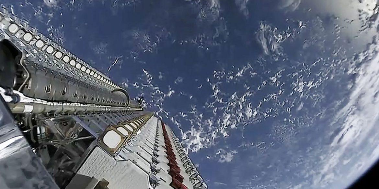 SpaceX використала ракету в сьомий раз для доставки супутників Starlink